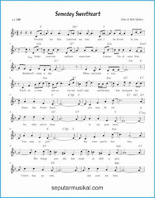 someday sweetheart 1 lagu jazz standar
