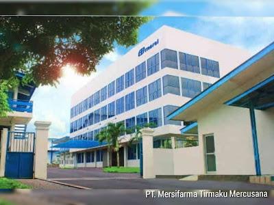 Lowongan Kerja Administrasi Design & Packaging PT Mersifarma TM