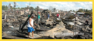 Iloilo Fire Victims' Houses