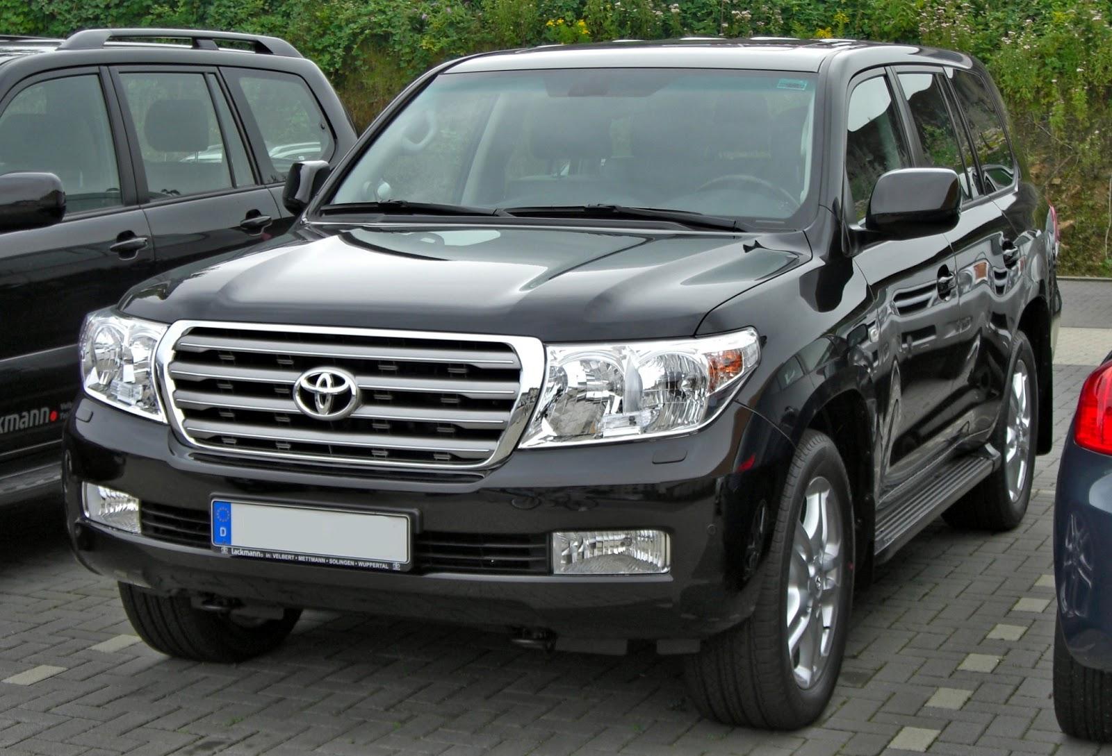 Latest Cars Models Toyota Land Cruiser V8