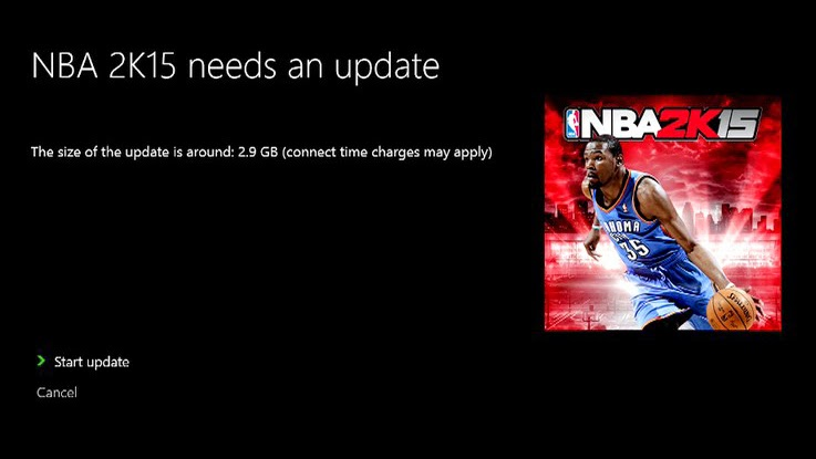 NBA 2K15 Patch #3 Xbox One