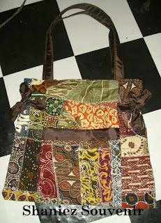 Shaniez Jogja Souvenir Handicraft Tas BATIK