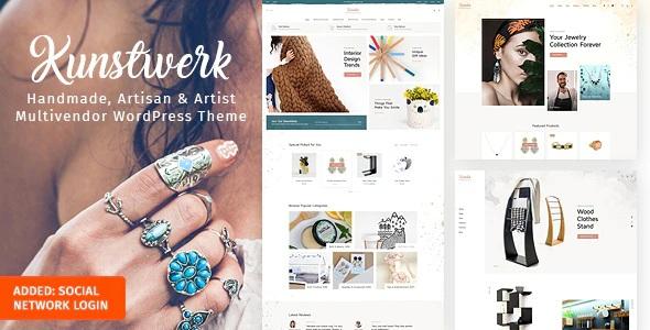 Handycraft Marketplace WordPress Theme