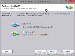 Cara, Merubah, FAT32, ke, NTFS, dan, Sebaliknya, Tanpa, Format