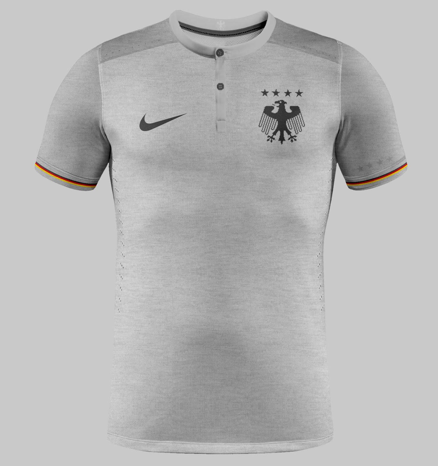 E se a camisa da seleção alemã fosse desenhada pela Nike  - Alemanha ... 260895066e771