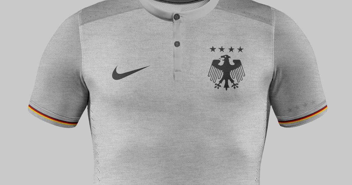 E se a camisa da seleção alemã fosse desenhada pela Nike  - Alemanha  Futebol Clube bfc24db38bc8e