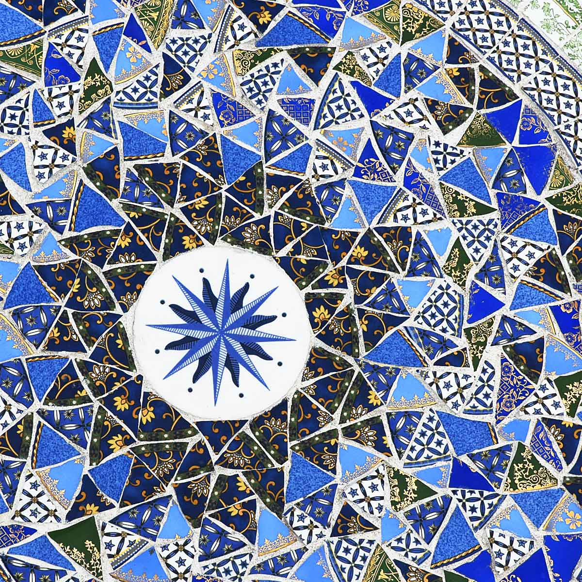 Picassiette Mosaic Table Top