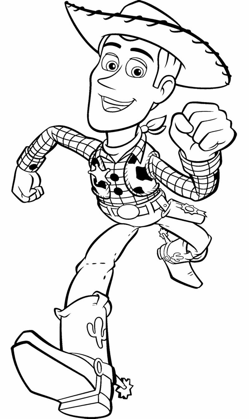Toy Story 2 Coloring Pages - Kidsuki