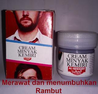 Minyak cream kemiri ak khodry penumbuh rambut alami herbal tradisional