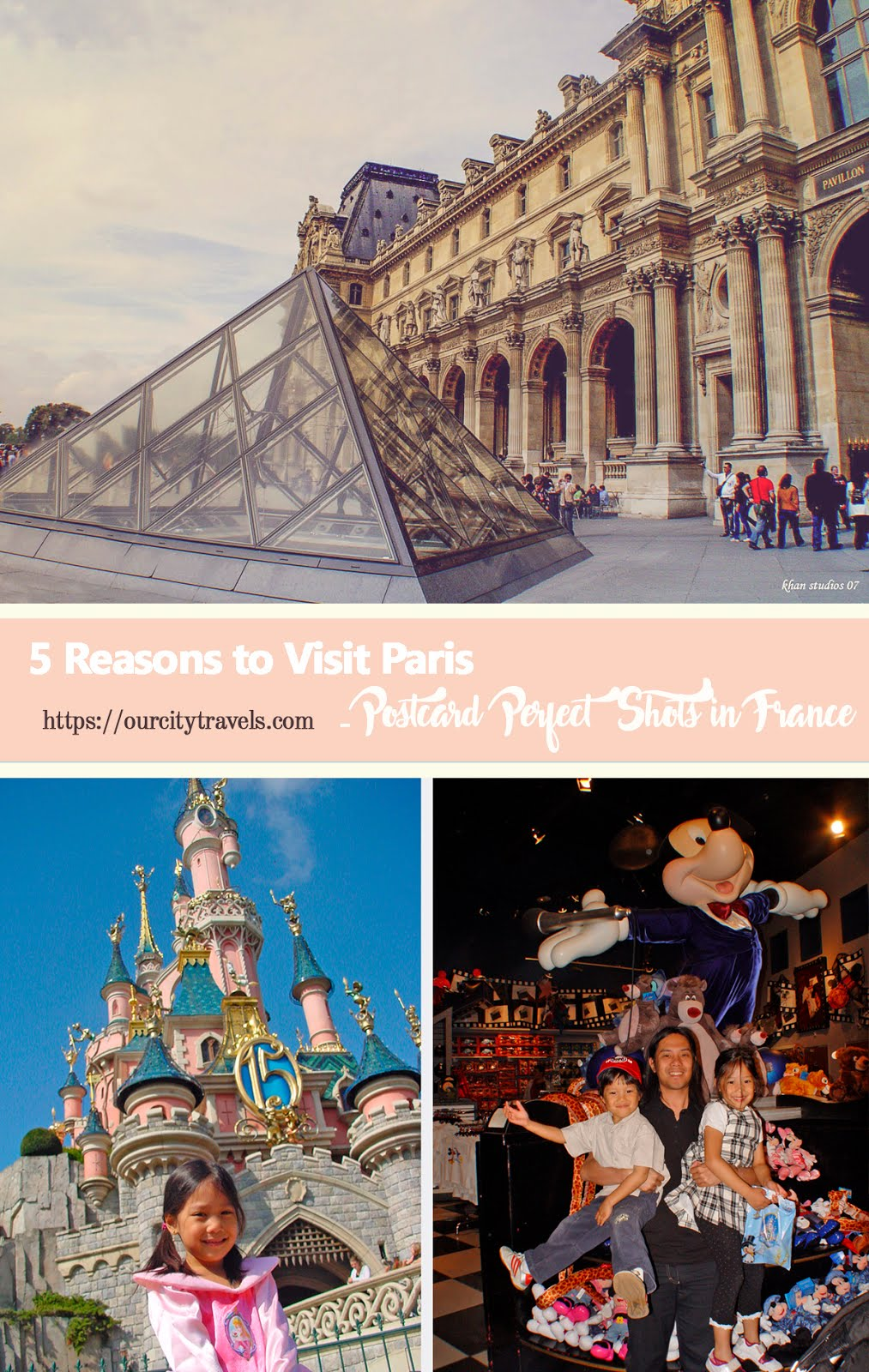Whether you are visiting for 3 days, a week, a month, or if you're staying for good, Paris' charm will always put you in awe. You will be surprised at the many beautiful streets you will discover, and the many little things that make this French city so lovable. Here are five reasons for you to love Paris.