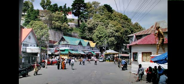 Dalhousie Attraction - Gandhi Chowk Dalhousie