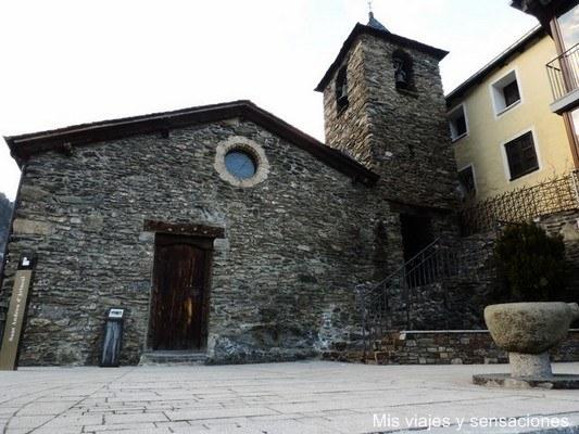 Iglesia Sant Andreu, Arinsal, Andorra