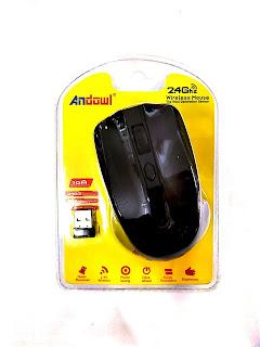 mouse andowl wireless senza fili