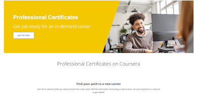Top 5 Professional Certificates on Coursera You can take to start your career in IT