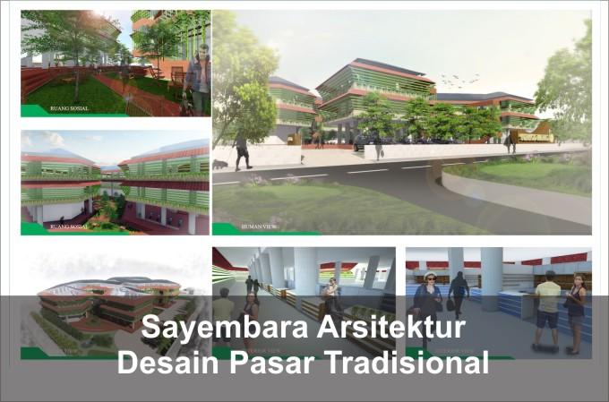 Desain Pasar Tradisional Yogyakarta