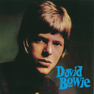 David Bowie looking very young on a 1967 album cover