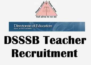 DSSSB Asst. Teacher Admit Card 2018