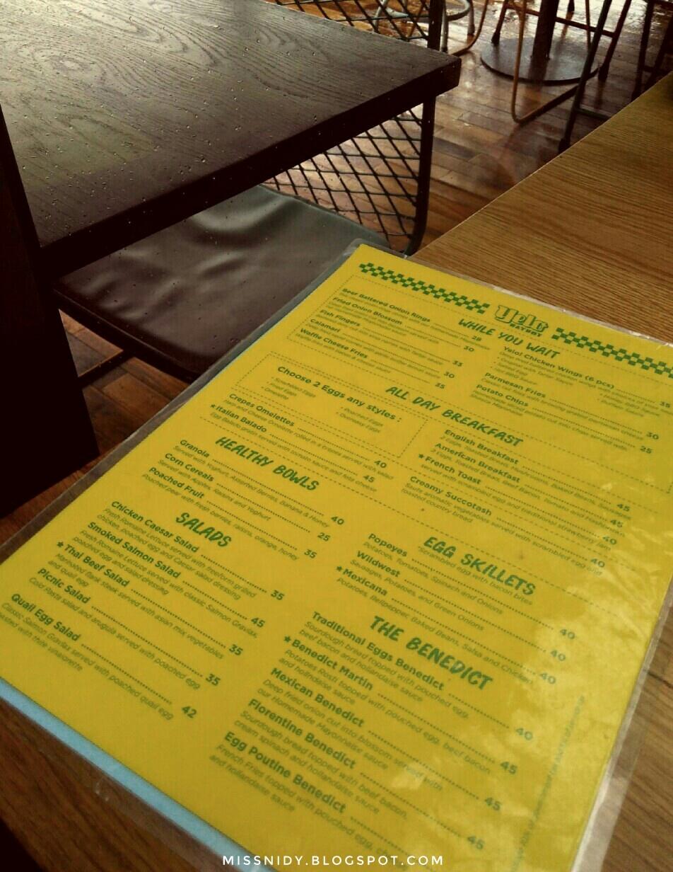 menu dan makanan di yelo eatery bogor
