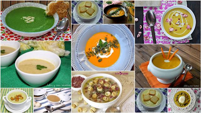 Cremas de verduras sanas y ricas. Julia y sus recetas