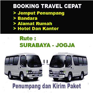 travel bisnis surabaya yogyakarta