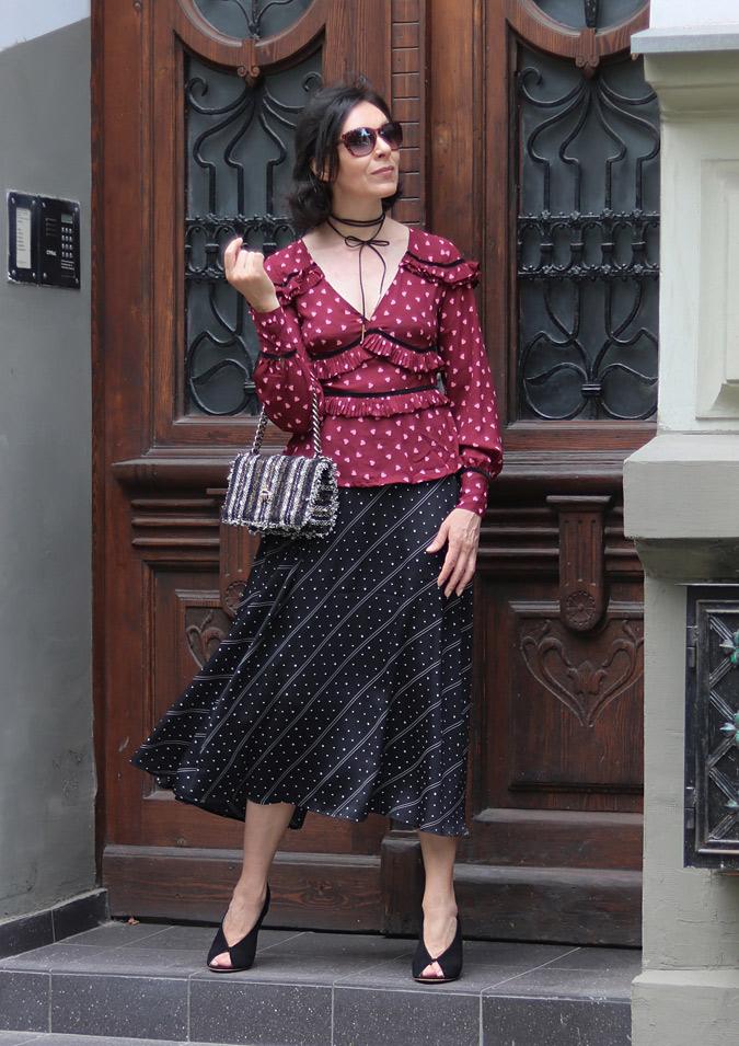 Sukienka w stylu hiszpańskim Zalando