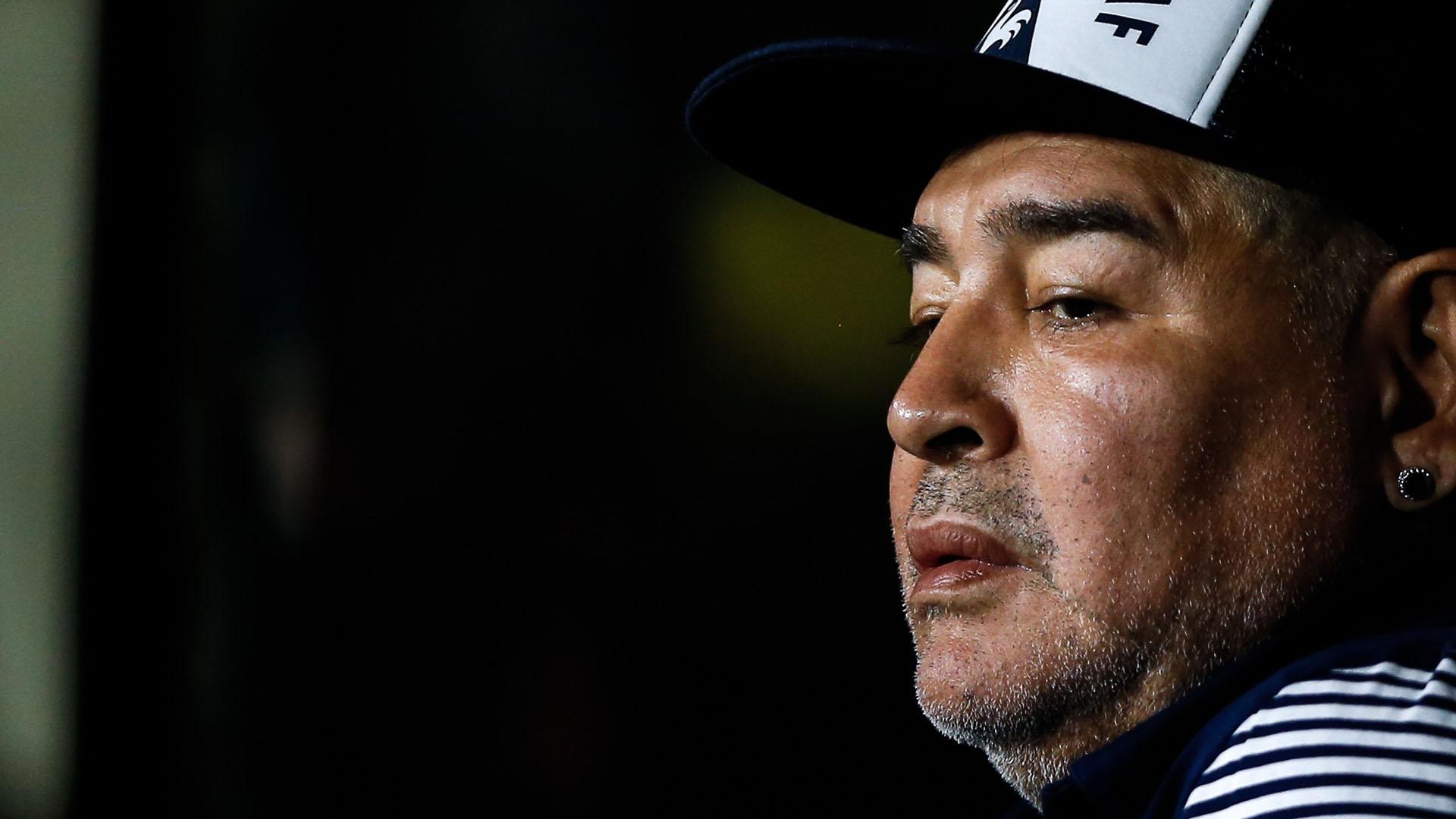 Maradona internado