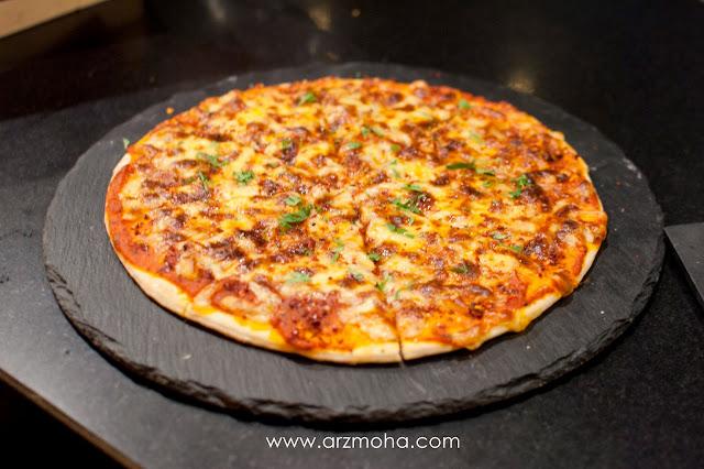 pizza di 2PM G Hotel Kelawai, afternoon tea 2PM G Hotel Kelawai, G Hotel kelawai, tempat minum petang di 2PM G Hotel Kelawai Penang, food blogger, food review, minum petang bersama tersayang