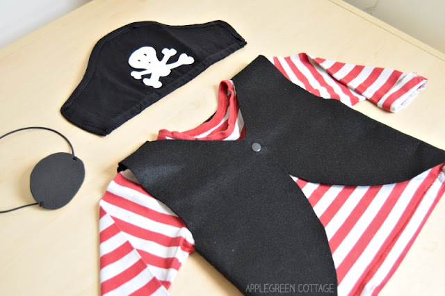 homemade pirate costume