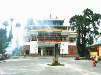 old ralong monastery sikkim india