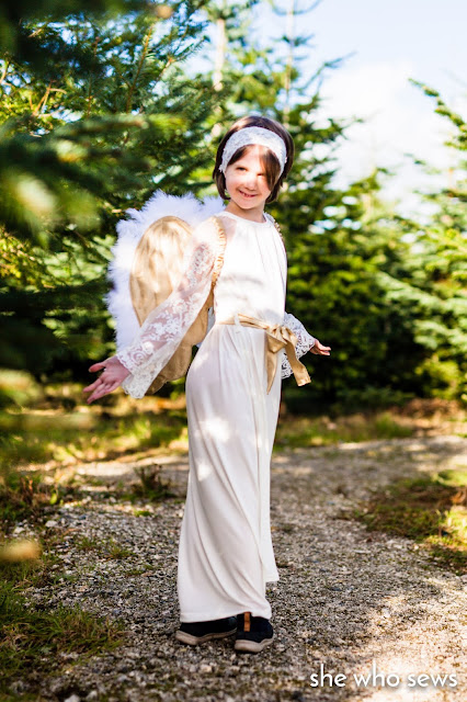 Angel dressing up costume