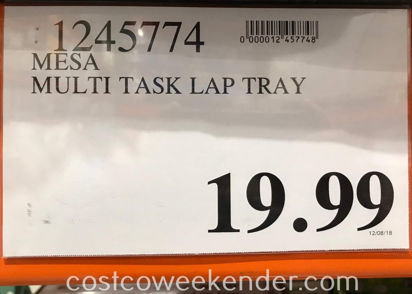 Deal for the Mesa Multi-Tasking Lap Tray at Costco