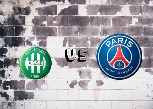 Saint-Étienne vs PSG  Resumen