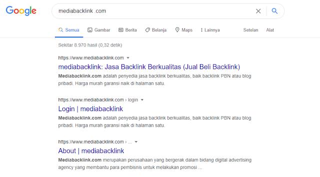 JASA BACKLINK BERKUALITAS YA MEDIABACKLINK.COM JAWABANNYA