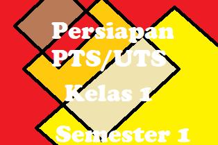 Soal Persiapan PTS/UTS Semester 1 Bahasa Inggris Kelas 1
