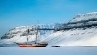 Ship in The Ice Hotel, Norway