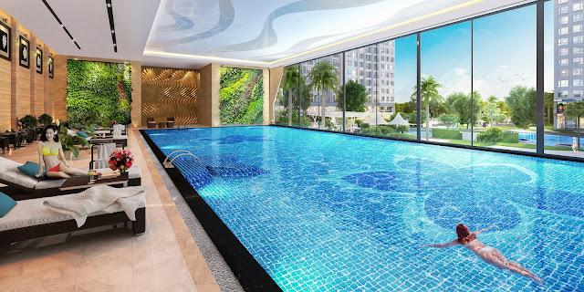 Bể bơi bốn mùa Vinhomes Gardenia Hàm Nghi