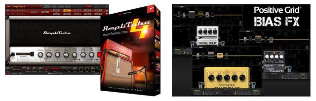 Software de Emulaciones de Efectos para Guitarra Eléctrica