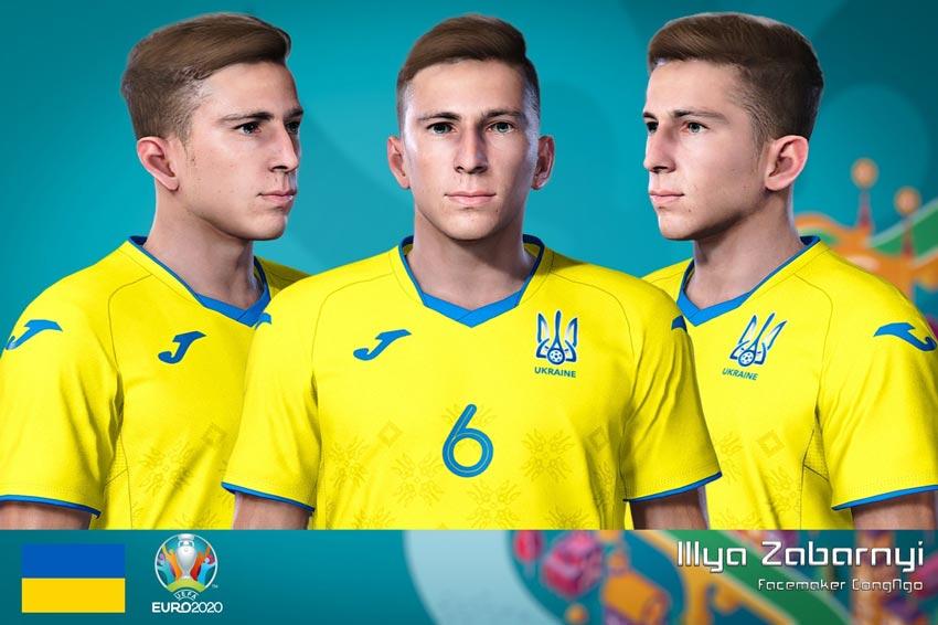 Faces Illya Zabarnyi For eFootball PES 2021