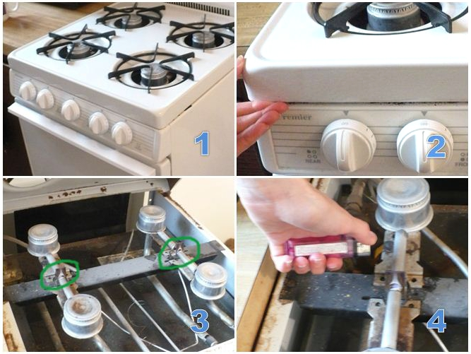 Apartmentsailor How To Light A Pilot Light On A Gas Stove