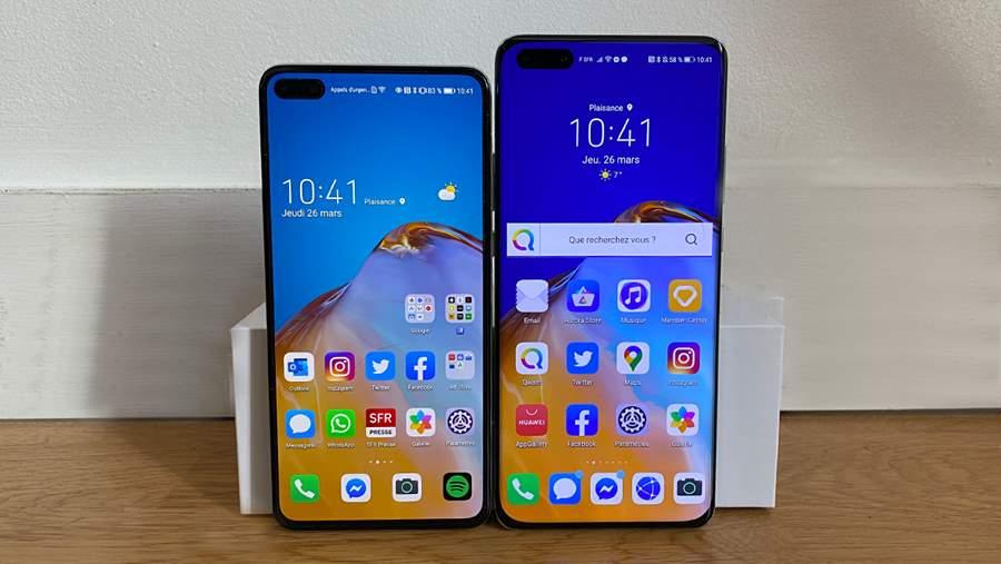 Huawei-P40-screen