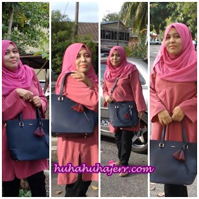 Cantiknya Beg Dan Sangat Puashati Dengan Beg Dari Mizzue Nih...!