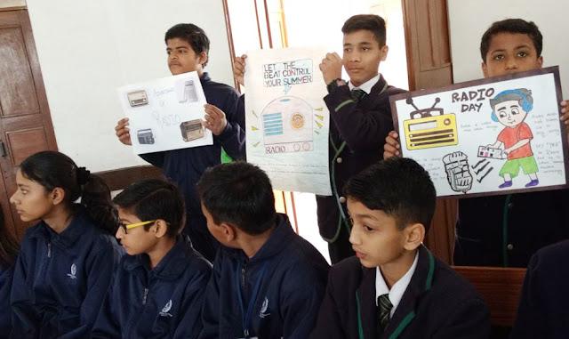 World Radio Day was celebrated at Hammerton Grammar School
