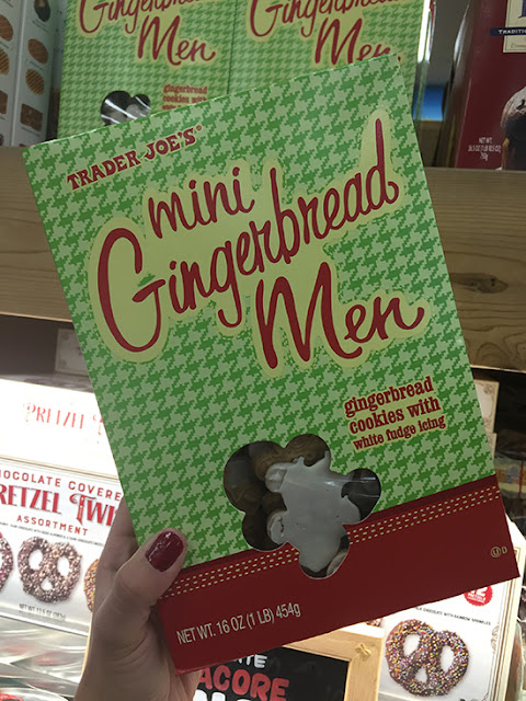 Trader Joe's Mini Gingerbread Men Review | Will Bake for Shoes