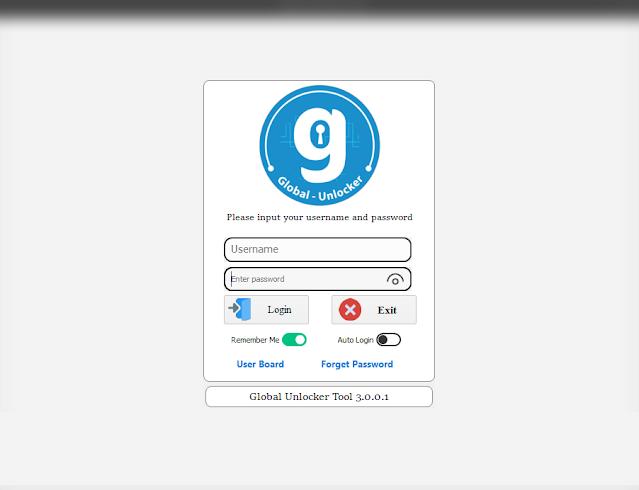 Global Unlocker Pro - v3.0.0.1 | Unlock No Box | New Securities | In One Click