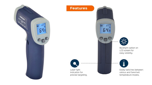 MeasuPro Infrared Thermometer