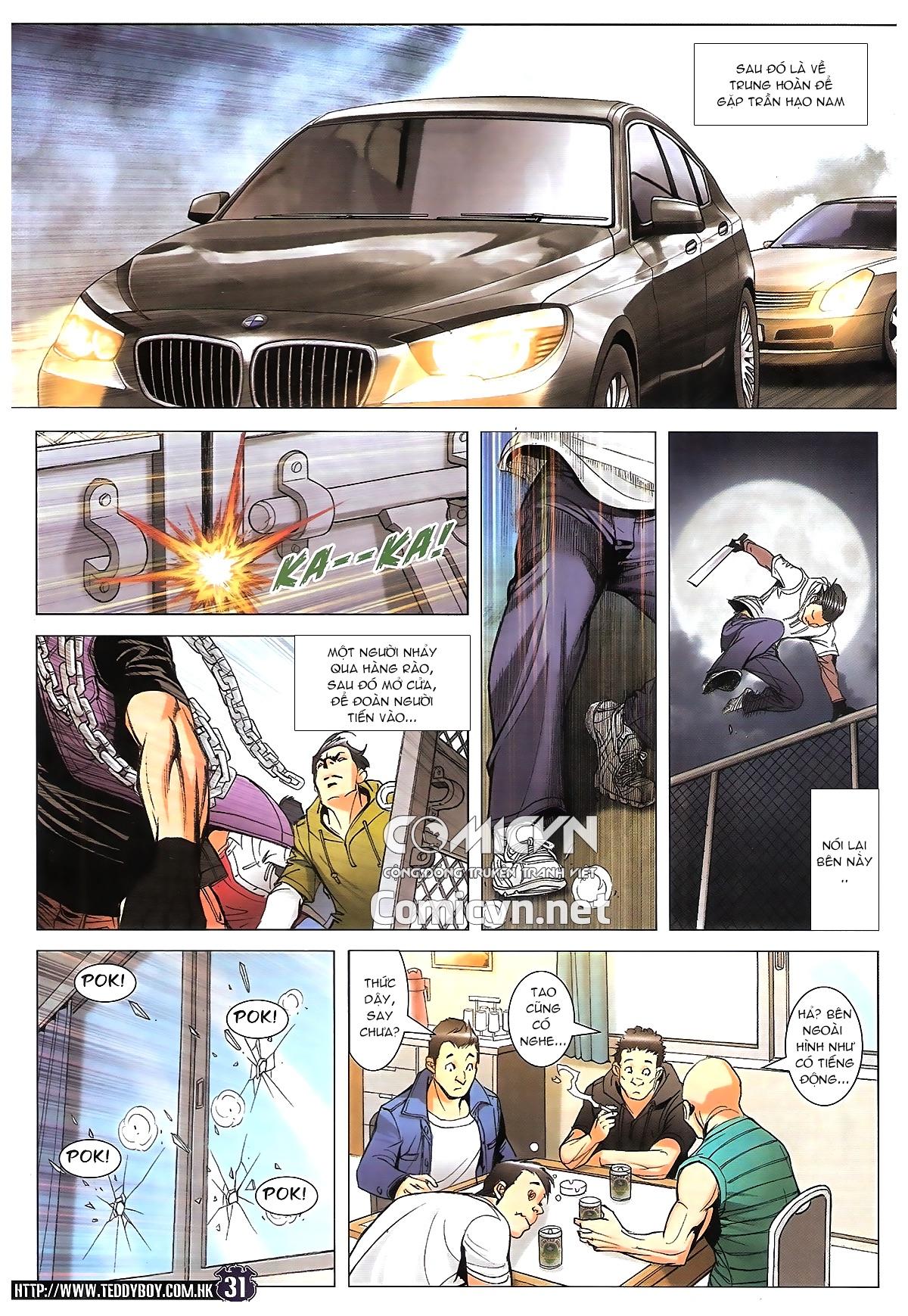 Người Trong Giang Hồ chapter 1784: cự long ngủ say trang 25