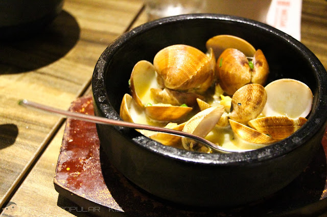 Watami's Buttered Clams