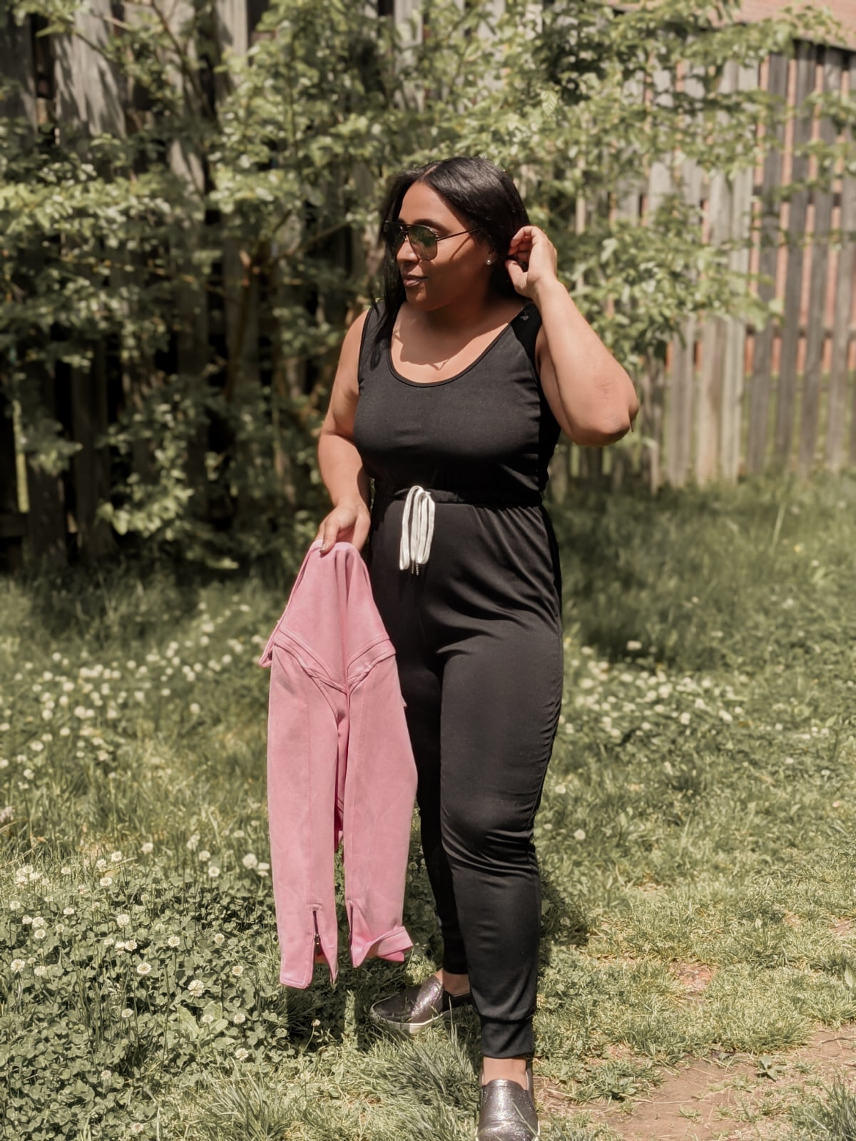 shein, shein reviews, how to style a jumpsuit, pattys kloset, jumpsuit outfit ideas