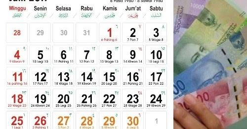 Jadwal Pencairan Gaji Ke 13 Pns Dan Thr 2017 Tahun Ajar