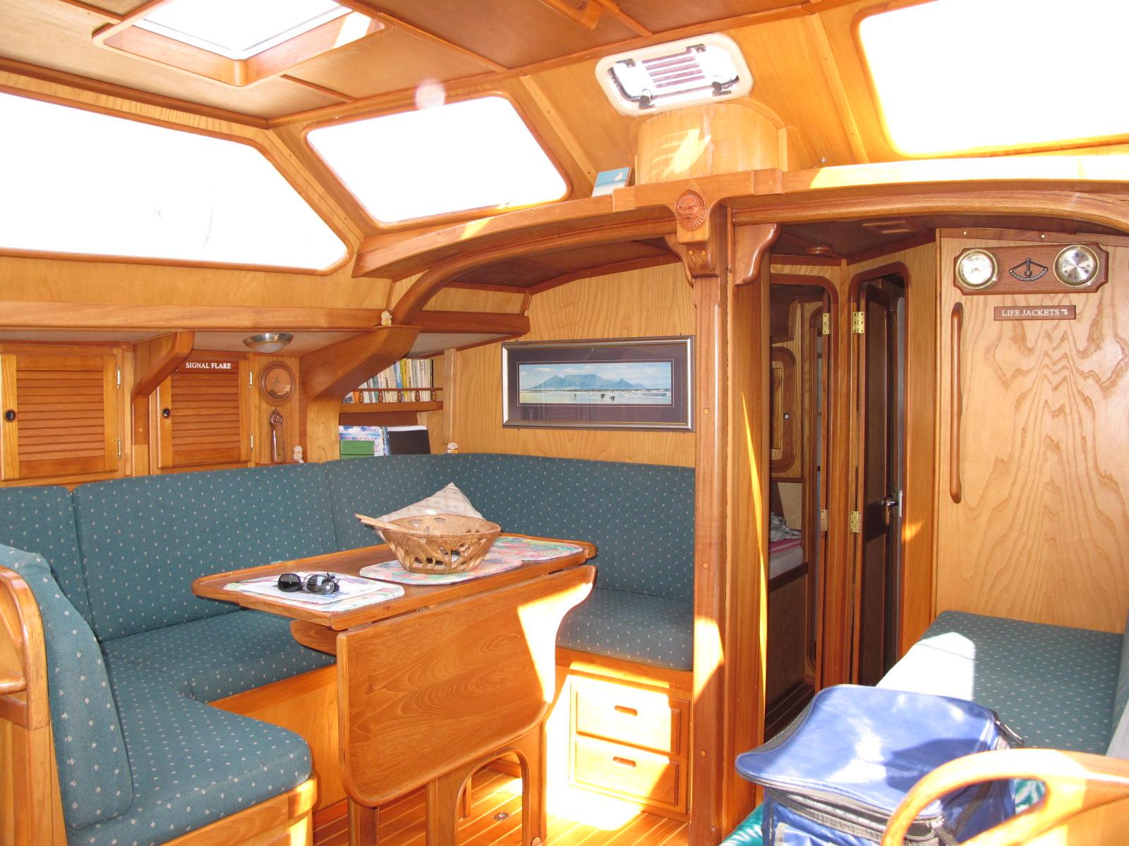 Ckd Boats Roy Mc Bride Inside A Wooden Boat